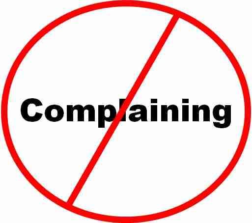 Complaint Free Image