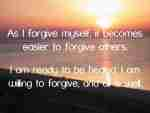 Six Steps for Forgiveness