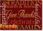 Celebrate and Give Thanks