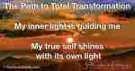 My inner light is guiding me