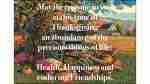 An abundance of the precious things of life