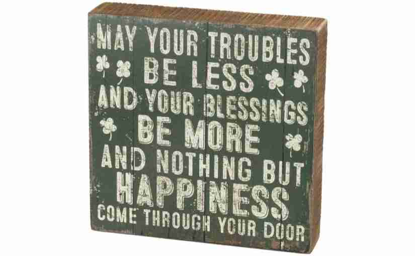 Happy St. Patrick's Day – Happiness Blessing